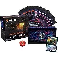 Magic The Gathering Abenteuer in den Forgotten Realms Bundle, 10 Draft-Booster & Zubehör (Deutsche Version)