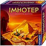 KOSMOS 692384 - Imhotep - Baumeister Ägyptens, das Grundspiel, Strategiespiel mit viel Interaktion und Spieltiefe…