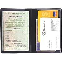 Preiswert & günstig Kfz-Schein-Hülle Ausweishülle Ausweisetui Ausweismäppchen strapazierfähig & pflegeleicht