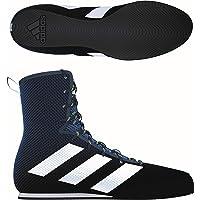 adidas Box Hog 3 Boxing Trainer Shoe Boot Navy Blue
