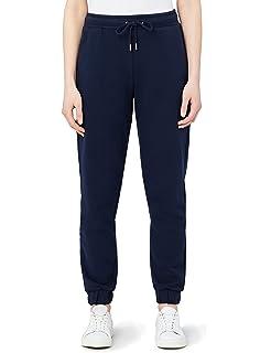 T-INSIDE Pantalon de Jogging Femme Coton avec Cordon de Serrage ... 74de671417a