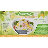 Jusano Shirataki Noodles I Konjak-Spaghetti aus Konjakmehl I Vegan I Glutenfrei I Kalorienarm I 5er Pack (5 x 250 g)