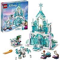 LEGO 43172 Disney Princess Le Palais des Glaces Magique d'Elsa, Château à Construire La Reine des neiges avec Les…