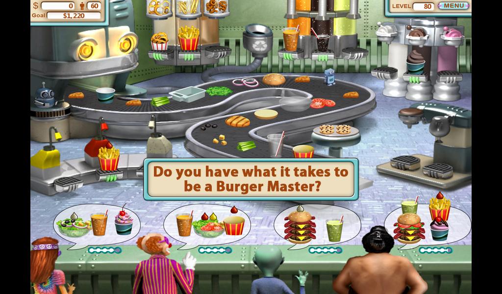 Burger, restaurant 4 gratuit en plein cran burger - jeu Burger, restaurant Express - Un jeu de filles gratuit