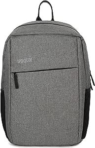 Wooum 15.6 inch Laptop Bag for Men and Women Waterproof Laptop Backpack/Office Bag/School Bag/College Bag/Business Bag/Unisex Travel Backpack (Grey)
