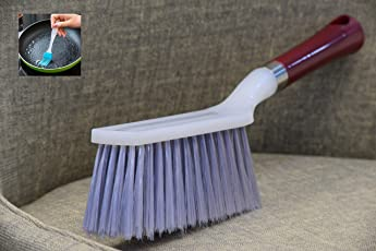 AR Carpet Brush Cleaning for Home Car Carpets Sofa Long Soft Bristles Curtains Upholstery (Free Silicone Oil Brush)