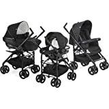 Chicco - Trio Sprint - Poussette - Black Night -  Collection 2017