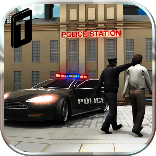 Crime Town Police Car Driver (Target Racing)
