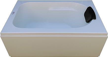 MADONNA Acrylic 4 feet Prestige Portable Bathtub - White
