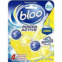 Bloo Power Active, Lemon, Toilet Rim Block, 50 g, Pack of 10