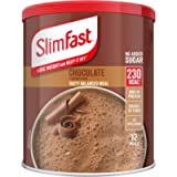 SlimFast Meal Shake, Chocolate Flavour, New Recipe, 12 Servings, Lose Weight and Keep It Off, Packaging May Vary