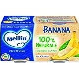 Mellin Omogeneizzato Di Frutta Banana 100% Naturale – 24 Vasetti da 100 gr