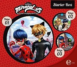 Miraculous - Geschichten von Ladybug & Cat Noir - Starter-Box (1-3) - Die Original-Hörspiele zur TV-Serie