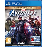 Marvel's Avengers - Deluxe Edition - Day-One - PlayStation 4