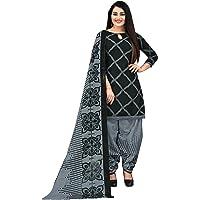 RajnandiniWomen's Cotton Unstitched Salwar Suit Material