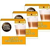 Nescafé Dolce Gusto capsules Latte Macchiato - voordeelverpakking - 90 koffiecups - geschikt voor 45 koppen koffie - Dolce Gu