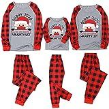 Pijama Navidad para Familia Padre Madre Hijo Hija Pareja Adultos Hombre Mujer Niño Niña - Sorry 2020 Papá Noel Tops + Pantalo