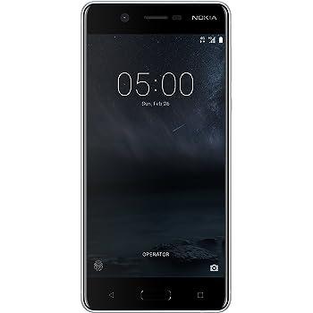 """Nokia 5 TA-1053 DS ES PT - Smartphone de 5.2""""(2 GB RAM,Memoria interna 16 GB,microSD hasta 128 GB), negro"""