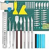 39 pièces accessoires de traceur outils de désherbage en vinyle Outils de bricolage, couteaux artisanaux, couteaux artisanaux