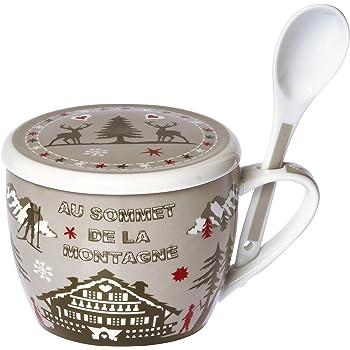 Tasse Soupe Avec Couvercle Soup Set Les Carottes Sont Cuites Blanc Porcelaine La Chaise Longue