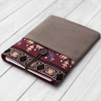 cover sleeve case for new iPad Mini Air Pro 9.7 10.5 11 12.9 handmade soft fabric Ethnic