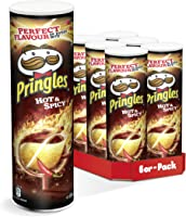 Pringles Hot & Spicy   6er Party-Pack (6 x 200g)