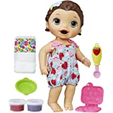Baby Alive Super Snacks Snackin' Lily (Brunette) (Amazon Exclusive),Multicolor,Medium