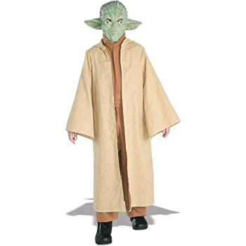 Star Wars tm Yoda tm Deluxe Costume Large Age 8-10  Amazon.it ... a19d9a62e955