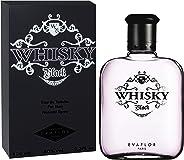 Evaflor Whisky Black EDT - Perfume For Men - 100 ml