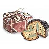 Panettone Artigianale Menta e Cioccolato di Pasticceria Fraccaro, Senza Canditi e Uvetta, Prodotto dolciario da forno a lievi