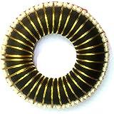 UG PRODUCTS Bharatanatyam Black Plastic Hair Bun for Women