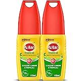 Autan Tropical Vapo Bipacco, Insetto Repellente e Antizanzare Comuni e Tropicali, 2 Confezioni da 100ml