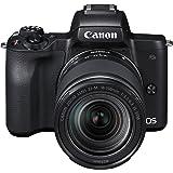 Canon EOS M50 systemkamera spegellös – med objektiv EF-M 18-150 mm IS STM (24,1 MP, roterande och svängbar 7,5 cm (3 tum) pek