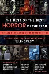 The Best of the Best Horror of the Year: 10 Years of Essential Short Horror Fiction Paperback