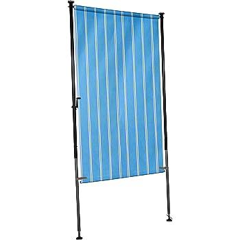 angerer balkon sichtschutz nr 9400 blau 270 x 150 x 275 cm breit 2317 9400. Black Bedroom Furniture Sets. Home Design Ideas