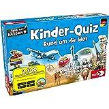 noris- Kinder-Quiz Alrededor del Mundo, el Juego de Familia para casa o de Viaje, para 1-6 Jugadores a Partir de 6 años. (606