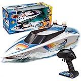 Xtrem Raiders - White Shark, Barco Teledirigido, Barcos Teledirigidos, Lancha Teledirigida Agua, Lanchas Teledirigidas, Jugue