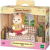 Sylvanian Families Chocolate Rabbit Father Set Doll -sf5013