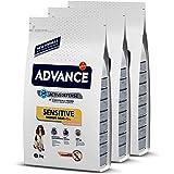 ADVANCE Sensitive Medium/Maxi - Pienso Para Perros Adultos Con Sensibilidades Digestivas De Razas Medianas y Grandes Con Salm