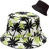 XYIYI Cappello da Pescatore Reversibile da Spiaggia Cappello da Sole per Donne Ragazze