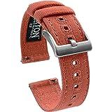 Bracelet de montre en toile à ouverture rapide - Barton (18 mm, 20 mm, 22 mm)