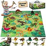 Fivejoy Juguetes de Dinosaurios, Dinosaurios Juguetes, Figuras de Dinosaurios Realistas, Juego Educativo de Dinosaurios con T