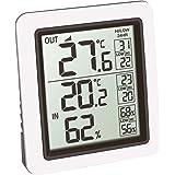 TFA Dostmann draadloze thermometer INFO, 30.3065.02, Binnenklimaatcontrole door temperatuur en vochtigheid met precisiesensor