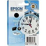 Epson Original 27 Series Standaard Inkt Cartridge Inktwekker, Dash Replenishment-Geschikt, Zwart