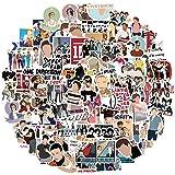 One Direction Stickers Pack 100Pcs, Laptop Stickers Bomb Vinyl Stickers Paquete Variado para Equipaje Computadora Monopatín C
