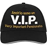 Bombo Berrettino Pensione Very Important Pensionato Regalo umoristico e Divertente