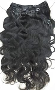 Clip-In Natural Human Remy Hair Extensions 24inch - 200g - 5pcs