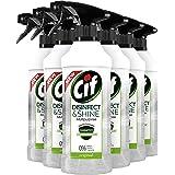 CIF Disinfect & Shine Schoonmaakspray Original - Desinfectie Spray, doodt 99,99% van de bacteriën - 6 x 500ML - Voordeelverpa