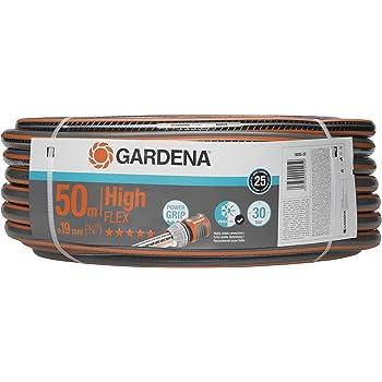"""GARDENA Comfort HighFLEX Schlauch 19mm (3/4""""), 50 m: Gartenschlauch mit Power-Grip-Profil, 30 bar Berstdruck, hochflexibel, formstabil, UV-beständig, verpackt (18085-20)"""