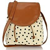 KLEIO Women's & Girls' Sling Bag (BnB315LY-Bl_Black)